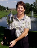 Lori West 2002 HyVee Classic Champion